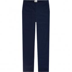 Legginsy w kolorze granatowym. Niebieskie legginsy dziewczęce Königsmühle, z bawełny. W wyprzedaży za 32,95 zł.