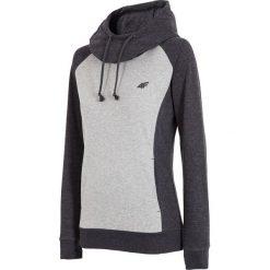 Damska bluza sportowa 4F Double Grey. Szare bluzy rozpinane damskie Astratex, z bawełny, z kapturem. Za 96,59 zł.