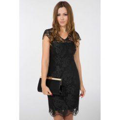 Sukienki: Kobieca sukienka z koronki