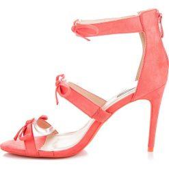 Szpilki: Sandały szpilki z kokardkami ALAIR