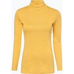 T-shirty damskie: brookshire - Damska koszulka z długim rękawem, żółty