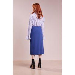 Sportmax Code ORDINE Spódnica trapezowa blue. Niebieskie spódniczki trapezowe Sportmax Code, z materiału. W wyprzedaży za 447,85 zł.