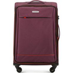 Walizka średnia 56-3S-462-35. Czerwone walizki marki Wittchen, średnie. Za 259,00 zł.