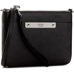 Torebka GUESS - Britta (VY) Mini-Bag HWVY66 93720 BLA. Niebieskie listonoszki damskie marki Guess, z materiału. W wyprzedaży za 219,00 zł.