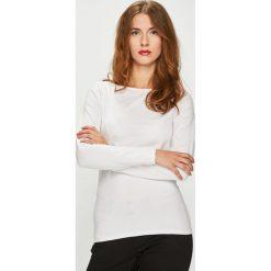 Medicine - Bluzka Essential. Szare bluzki z odkrytymi ramionami MEDICINE, l, z bawełny, casualowe, z okrągłym kołnierzem. Za 39,90 zł.