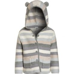 GAP BABY Kardigan light heather grey. Niebieskie swetry chłopięce marki GAP, z denimu. Za 129,00 zł.