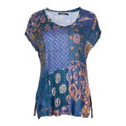 Desigual Desigual T-Shirt Damski L Niebieski. Niebieskie t-shirty damskie Desigual, s. W wyprzedaży za 189,00 zł.