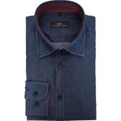 Koszula JUSEPPE 15-03-02-K. Niebieskie koszule męskie Giacomo Conti, m, z lyocellu, z włoskim kołnierzykiem, z długim rękawem. Za 259,00 zł.