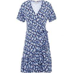 MICHAEL Michael Kors MINI WRAP Sukienka z dżerseju true navy/light chambray. Niebieskie sukienki mini marki MICHAEL Michael Kors, xs, z dżerseju. Za 949,00 zł.