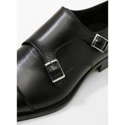 Buty wizytowe męskie: J.LINDEBERG ENG DOUBLE MONK IT Eleganckie buty black