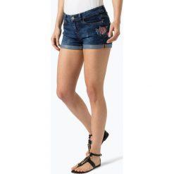 Aygill's - Damskie krótkie spodenki jeansowe, niebieski. Czarne szorty damskie z printem marki bonprix. Za 219,95 zł.