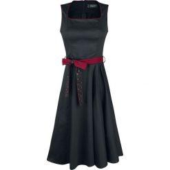 Rock Rebel by EMP Twisting & Grooving Sukienka czarny. Białe sukienki na imprezę marki Molly.pl, na lato, s, w jednolite wzory, z bawełny, z dekoltem na plecach, mini, dopasowane. Za 199,90 zł.