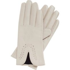 Rękawiczki damskie 39-6-552-A. Białe rękawiczki damskie Wittchen, z polaru. Za 99,00 zł.