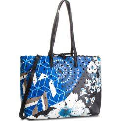 Torebka DESIGUAL - 18WAXP26 5000. Niebieskie torebki klasyczne damskie Desigual, ze skóry ekologicznej. W wyprzedaży za 289,00 zł.