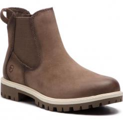 Sztyblety TAMARIS - 1-25401-21 Pepper 324. Brązowe buty zimowe damskie Tamaris, z nubiku. Za 319,90 zł.