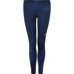"""Legginsy funkcyjne """"Omnius"""" w kolorze granatowym. Niebieskie legginsy marki Odlo Women, xs, z materiału. W wyprzedaży za 117,95 zł."""