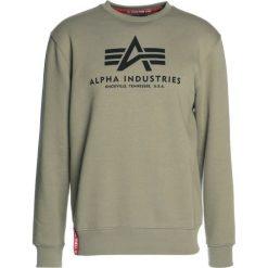 Bejsbolówki męskie: Alpha Industries BASIC SWEATER Bluza olive