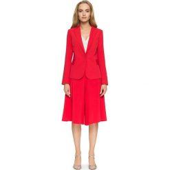 SHERRY Taliowany żakiet - czerwony. Czerwone marynarki i żakiety damskie Stylove, z jeansu, eleganckie. Za 159,90 zł.