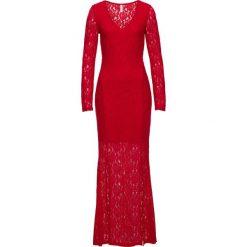 Sukienki: Sukienka z koronką bonprix czerwony