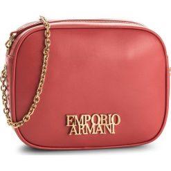 Torebka EMPORIO ARMANI - Y3B091 YDA8D 80003 Red. Szare torebki klasyczne damskie marki Emporio Armani, l, z nadrukiem, z bawełny, z okrągłym kołnierzem. W wyprzedaży za 1129,00 zł.