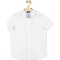 Koszula. Białe koszule chłopięce marki ELEGANT JUNIOR BOY, z bawełny, z długim rękawem. Za 59,90 zł.