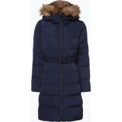 Esprit Casual - Płaszcz puchowy damski, niebieski. Niebieskie płaszcze damskie pastelowe Esprit Casual, w paski, z puchu, casualowe. Za 579,95 zł.