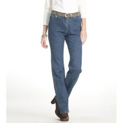 Boyfriendy damskie: Jeansy denim stretch, wewn. dł. nogawki. 73 cm