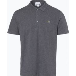 Lacoste - Męska koszulka polo, szary. Szare koszulki polo Lacoste, l, ze skóry. Za 249,95 zł.