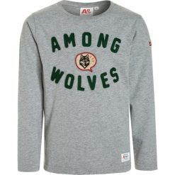 American Outfitters WOLVES Bluzka z długim rękawem  heather oxford. Białe bluzki dziewczęce bawełniane marki UP ALL NIGHT, z krótkim rękawem. W wyprzedaży za 135,20 zł.
