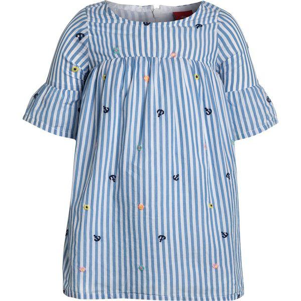 bb168d8ec0 s.Oliver RED LABEL KURZ Sukienka letnia blue - Niebieskie sukienki  dziewczęce s.Oliver RED LABEL