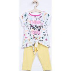 Spodnie dziewczęce: Blukids – Komplet dziecięcy 98-128 cm
