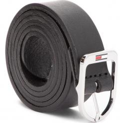 Pasek Damski TOMMY JEANS - Tjw Flag Belt 2.5 AW0AW05896 75 002. Czarne paski damskie Tommy Jeans, w paski, z jeansu. W wyprzedaży za 139,00 zł.