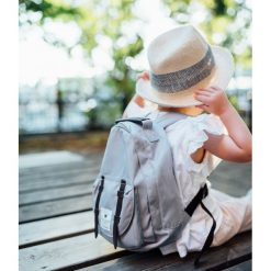 Plecaki męskie: Elodie Details Plecak MINI – Marble Grey
