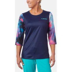 GIRO Koszulka Roust Jersey Granatowo-różowa r. S (GR-8053502). Czerwone topy sportowe damskie marki Giro, s, z jersey. Za 270,58 zł.