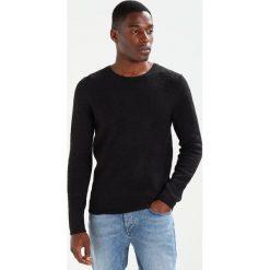 Swetry klasyczne męskie: Selected Homme SHDCALI CREW NECK Sweter caviar/black