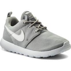 Półbuty NIKE - Roshe One (Ps) 749427 033 Wolf Grey/White. Szare półbuty damskie skórzane Nike, na sznurówki. Za 219,00 zł.
