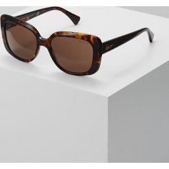 RALPH Ralph Lauren Okulary przeciwsłoneczne brown. Brązowe okulary przeciwsłoneczne damskie aviatory RALPH Ralph Lauren. Za 419,00 zł.