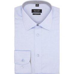 Koszula bexley 2657 długi rękaw slim fit niebieski. Niebieskie koszule męskie slim Recman, m, z długim rękawem. Za 139,00 zł.