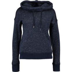 Bluzy damskie: Superdry Bluza z kapturem navy blizzard