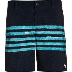Abercrombie & Fitch CORE  Szorty kąpielowe navy/aqua. Niebieskie kąpielówki chłopięce Abercrombie & Fitch, z elastanu. W wyprzedaży za 132,30 zł.
