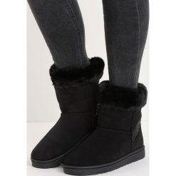 Czarne Śniegowce Vanity Fair. Czarne buty zimowe damskie Born2be. Za 79,99 zł.