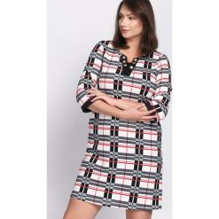 Sukienki: Czarna Sukienka Symmetry