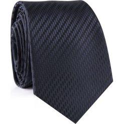 Krawat KWCR001877. Czarne krawaty męskie Giacomo Conti, z materiału, eleganckie. Za 69,00 zł.
