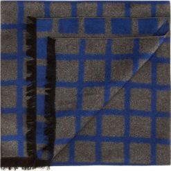 Szal męski 85-7M-S40-X5. Niebieskie szaliki męskie marki Wittchen, z materiału. Za 199,00 zł.