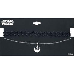 Naszyjniki damskie: Star Wars Rebel Logo Naszyjnik czarny/srebrny