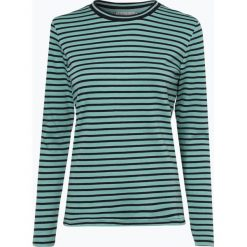 Marie Lund - Damska koszulka z długim rękawem, zielony. Zielone t-shirty damskie Marie Lund, s, w paski, z bawełny. Za 89,95 zł.