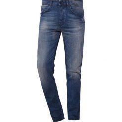 BOSS CASUAL TABER Jeansy Slim Fit medium blue. Niebieskie jeansy męskie relaxed fit BOSS Casual. Za 629,00 zł.