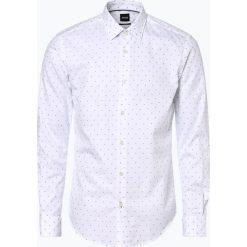 BOSS - Koszula męska – Ronni_F, czarny. Czarne koszule męskie na spinki marki Boss, m. Za 479,95 zł.