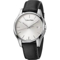 ZEGAREK CALVIN KLEIN K7K411C6. Szare zegarki męskie Calvin Klein, szklane. Za 1099,00 zł.