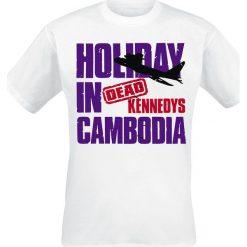 T-shirty męskie: Dead Kennedys Holiday In Cambodia T-Shirt biały